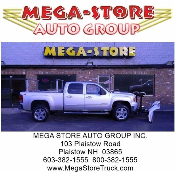 2012 GMC Sierra 2500HD for sale at Mega Store Auto Group in Plaistow NH