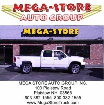 2013 GMC Sierra 2500HD for sale at Mega Store Auto Group in Plaistow NH