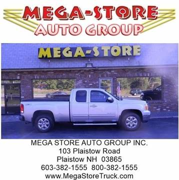 2011 GMC Sierra 1500 for sale at Mega Store Auto Group in Plaistow NH