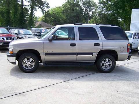 2003 Chevrolet Tahoe for sale at Baton Rouge Auto Sales in Baton Rouge LA