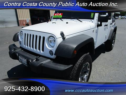 2015 Jeep Wrangler Unlimited for sale in Pittsburg, CA