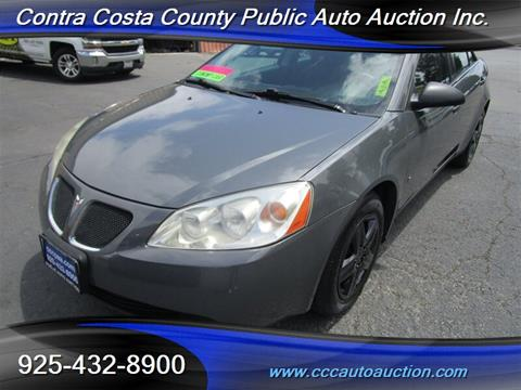 2008 Pontiac G6 for sale in Pittsburg, CA