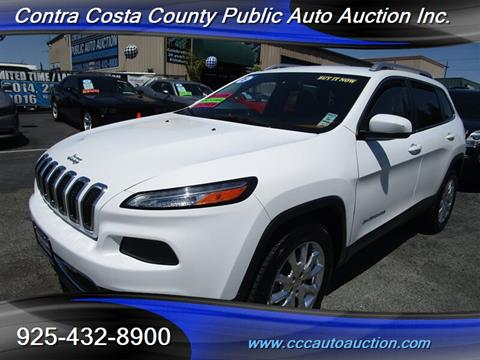 2015 Jeep Cherokee for sale in Pittsburg, CA
