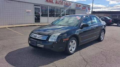 2008 Ford Fusion for sale at AMC Auto in Roseville MI