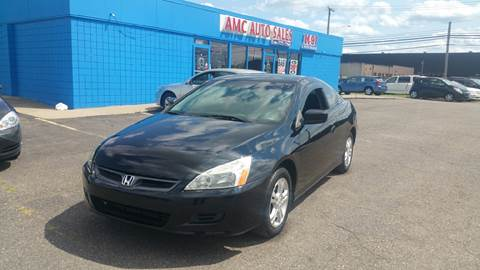 2007 Honda Accord for sale at AMC Auto in Roseville MI