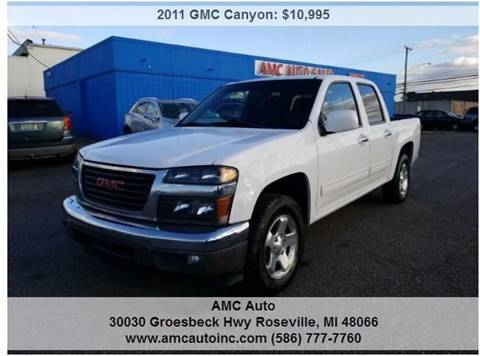 2011 GMC Canyon for sale in Roseville, MI