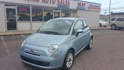2013 FIAT 500 for sale at AMC Auto in Roseville MI