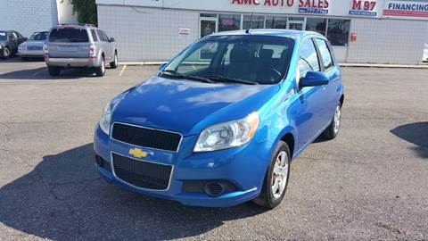 2010 Chevrolet Aveo for sale at AMC Auto in Roseville MI