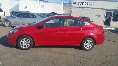 2013 Hyundai Accent for sale at AMC Auto in Roseville MI
