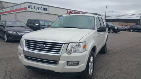 2010 Ford Explorer for sale at AMC Auto in Roseville MI