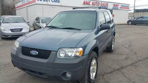 2005 Ford Escape for sale at AMC Auto in Roseville MI