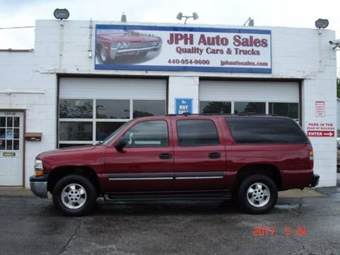 2002 Chevrolet Suburban for sale in Eastlake, OH