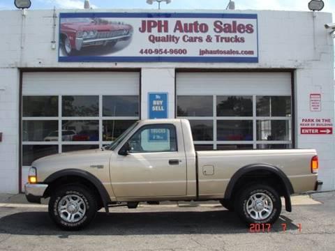 2000 Ford Ranger for sale in Eastlake, OH