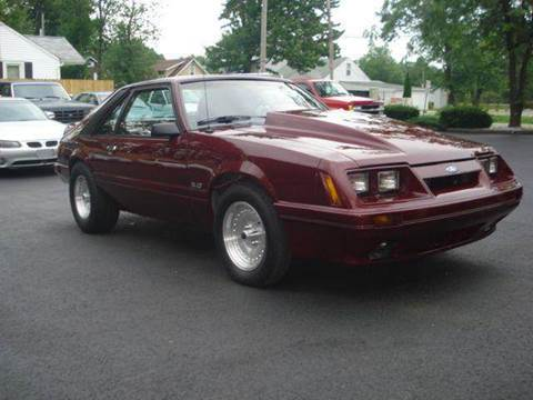 1982 Ford Mustang for sale at JPH Auto Sales in Eastlake OH