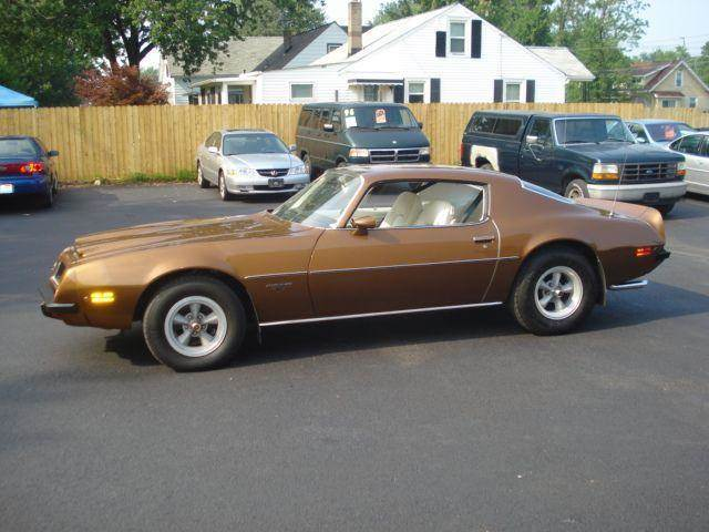1974 Pontiac Firebird for sale at JPH Auto Sales in Eastlake OH