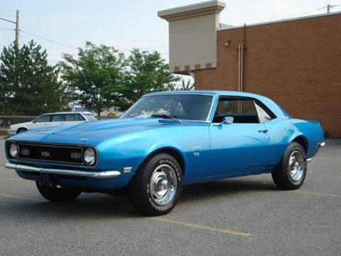 1968 Chevrolet Camaro for sale at JPH Auto Sales in Eastlake OH