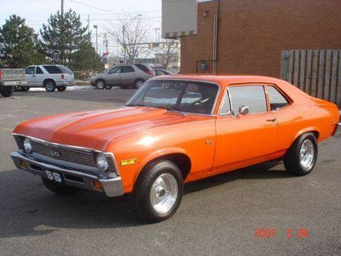 1972 Chevrolet Nova for sale at JPH Auto Sales in Eastlake OH