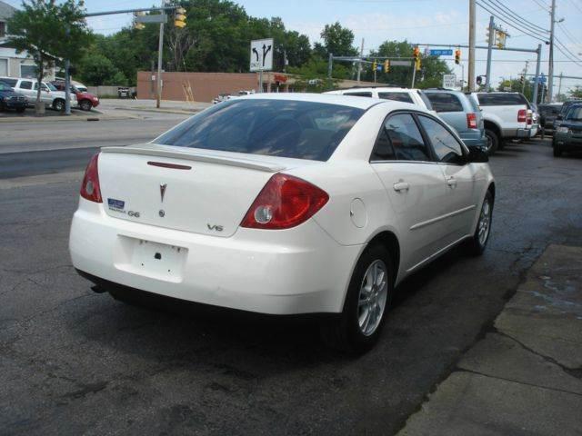 2006 Pontiac G6 4dr Sedan w/V6 - Eastlake OH