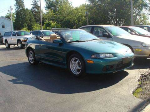 1998 Mitsubishi Eclipse for sale at JPH Auto Sales in Eastlake OH