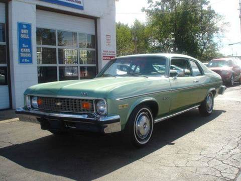 1974 Chevrolet Nova for sale at JPH Auto Sales in Eastlake OH