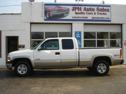 2002 Chevrolet Silverado 1500 for sale at JPH Auto Sales in Eastlake OH