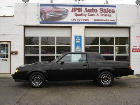1987 Buick Regal for sale at JPH Auto Sales in Eastlake OH