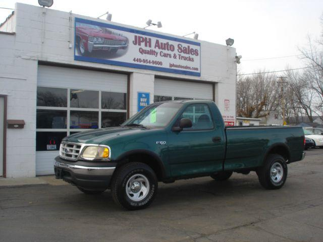 1999 Ford F 150 Xl Reg Cab Long Bed 4wd In Eastlake Oh Jph Auto Sales