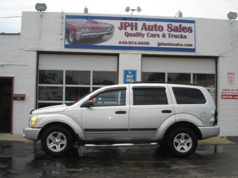 2006 Dodge Durango for sale at JPH Auto Sales in Eastlake OH