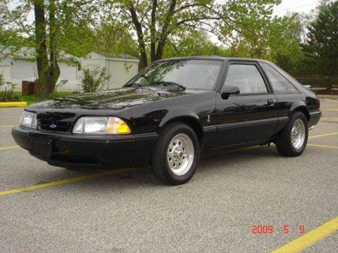1991 Ford Mustang for sale at JPH Auto Sales in Eastlake OH