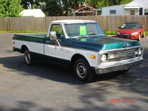 1969 Chevrolet C/K 10 Series for sale at JPH Auto Sales in Eastlake OH