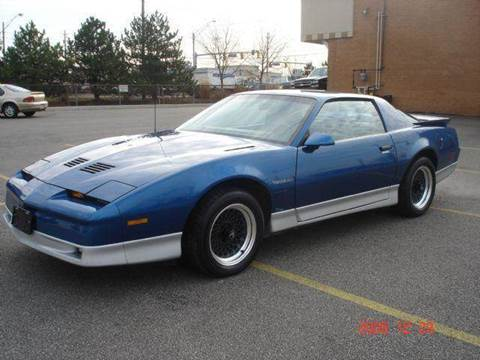 1987 Pontiac Trans Am for sale at JPH Auto Sales in Eastlake OH
