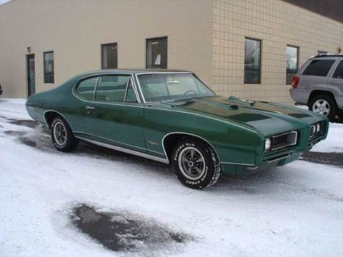1968 Pontiac GTO for sale at JPH Auto Sales in Eastlake OH