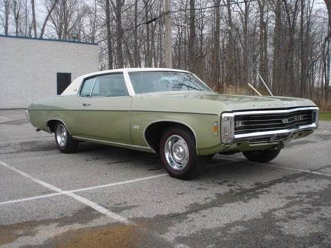 1969 Chevrolet Impala for sale at JPH Auto Sales in Eastlake OH