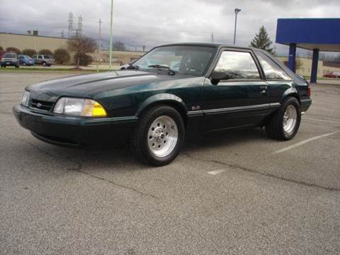 1992 Ford Mustang for sale at JPH Auto Sales in Eastlake OH