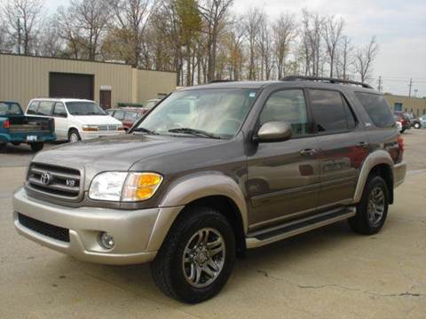 2003 Toyota Sequoia for sale at JPH Auto Sales in Eastlake OH