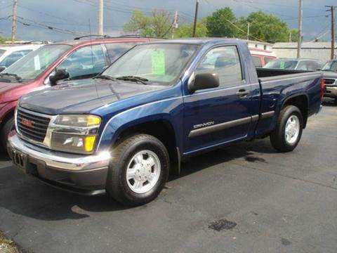 2004 GMC Canyon for sale at JPH Auto Sales in Eastlake OH