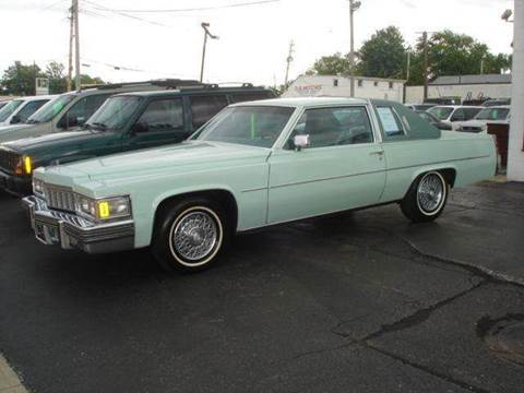 1977 Cadillac DeVille for sale at JPH Auto Sales in Eastlake OH