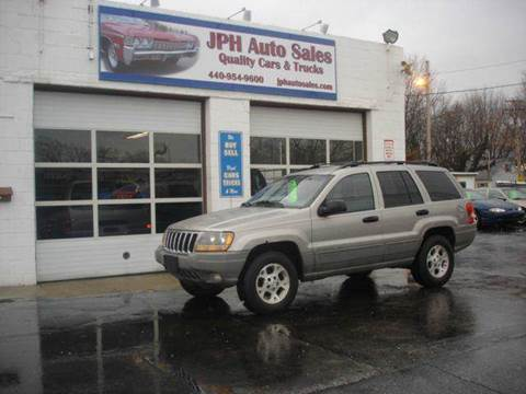 2000 Jeep Grand Cherokee for sale at JPH Auto Sales in Eastlake OH