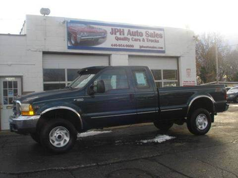 1999 Ford F-350 Super Duty for sale at JPH Auto Sales in Eastlake OH