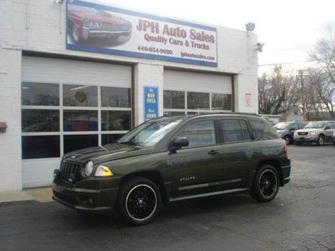 2007 Jeep Compass for sale at JPH Auto Sales in Eastlake OH