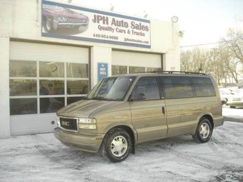 2000 GMC Safari for sale at JPH Auto Sales in Eastlake OH