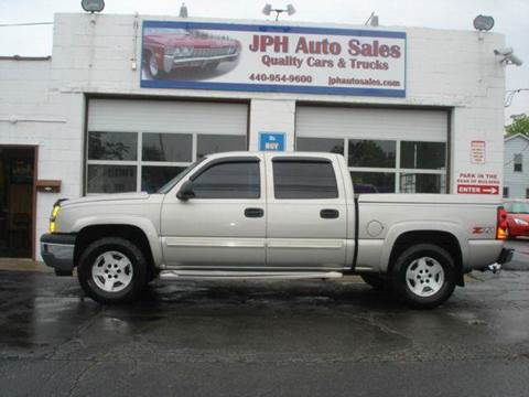 2005 Chevrolet Silverado 1500 for sale at JPH Auto Sales in Eastlake OH