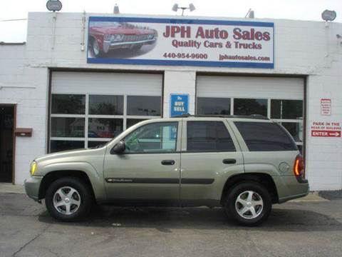 2004 Chevrolet TrailBlazer for sale at JPH Auto Sales in Eastlake OH