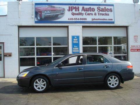 2004 Honda Accord for sale at JPH Auto Sales in Eastlake OH