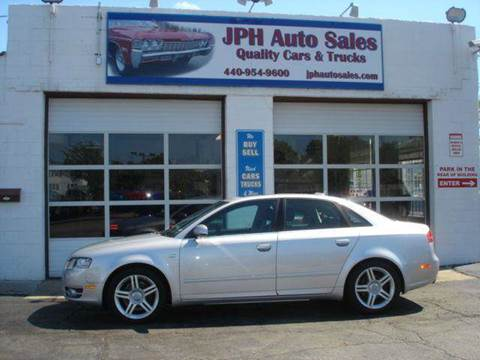 2005 Audi A4 for sale at JPH Auto Sales in Eastlake OH