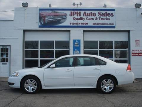 2011 Chevrolet Impala for sale at JPH Auto Sales in Eastlake OH