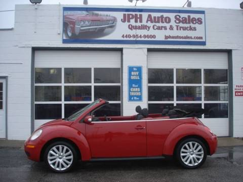 2008 Volkswagen New Beetle for sale in Eastlake, OH