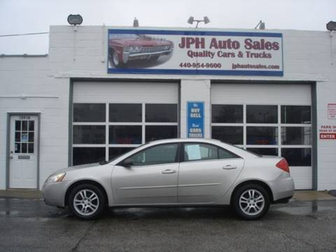 2006 Pontiac G6 for sale in Eastlake, OH