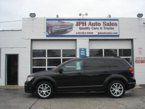 2013 Dodge Journey for sale at JPH Auto Sales in Eastlake OH