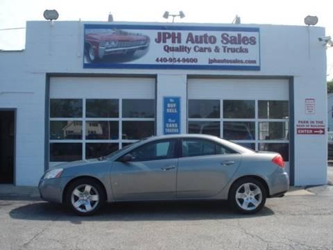 2009 Pontiac G6 for sale in Eastlake, OH